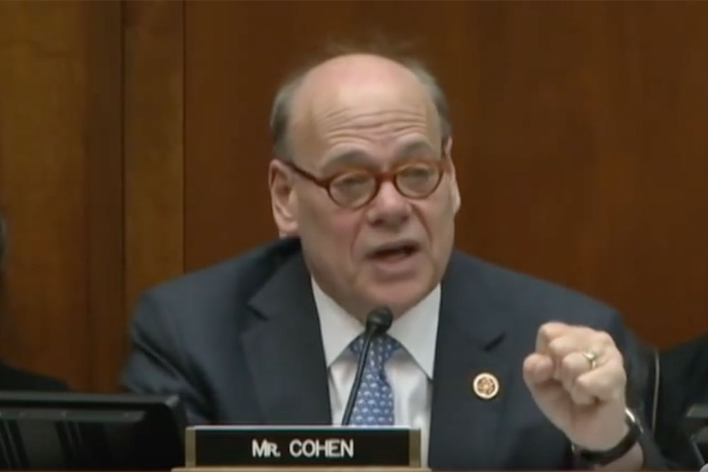 Rep Steve Cohen (D-TN) makes a case for the CARERS Act in a congressional committee hearing