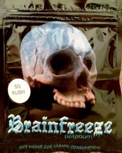 "Brain freeze Synthetic Marijuana ""not meant for human consumption"" is dangerous synthetic marijuana"