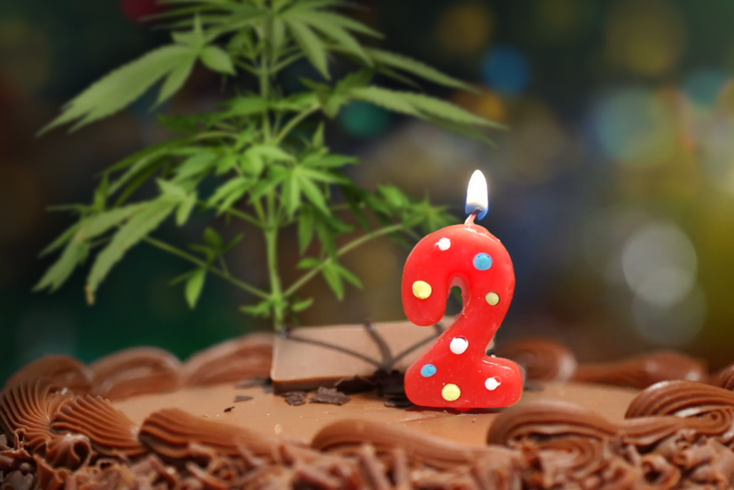 Happy 2nd Anniversary to The Cannabis Reporter Radio Show
