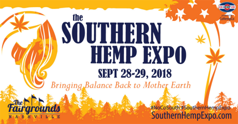 Southern Hemp Expo Sept 28, 29, 2018