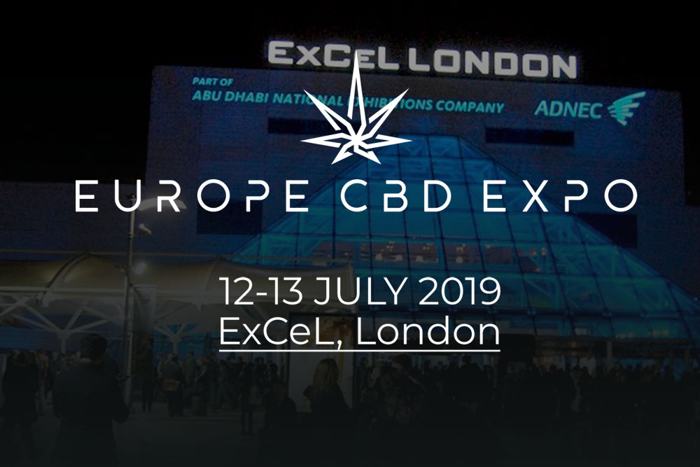Europe CBD Expo London 2019 at ExCel