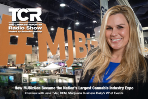 How MJBizCon Became the Nation's Largest Cannabis Industry Expo on The Cannabis Reporter Radio Show hosted by Snowden Bishop Cover Image featuring Jess Tyler, VP Marijuana Business Daily