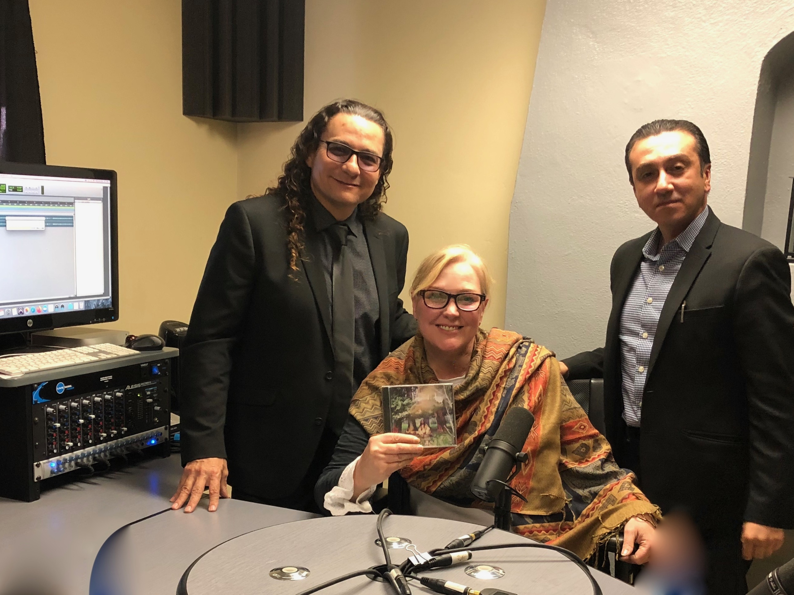 Cano Sanchez and Dr. Vahan Setyan with Snowden Bishop on The Cannabis Reporter Radio Show